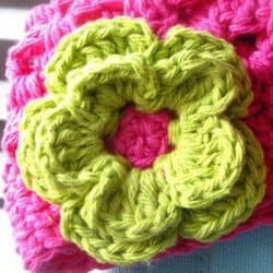 Double Layer Daisy Crochet Pattern