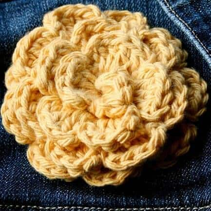 Simple Flower Crochet Pattern