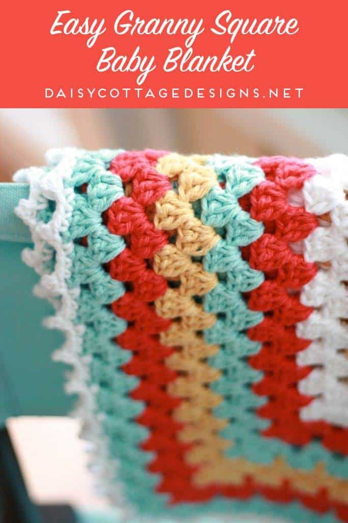 Granny Square Baby Blanket Daisy Cottage Designs