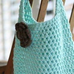 Free Market Tote Crochet Pattern