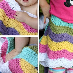 On the Hook: Ripple Blanket