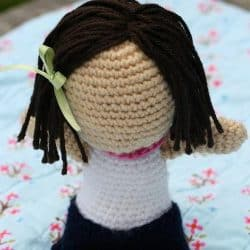 Meet Lola the Crocheted Doll
