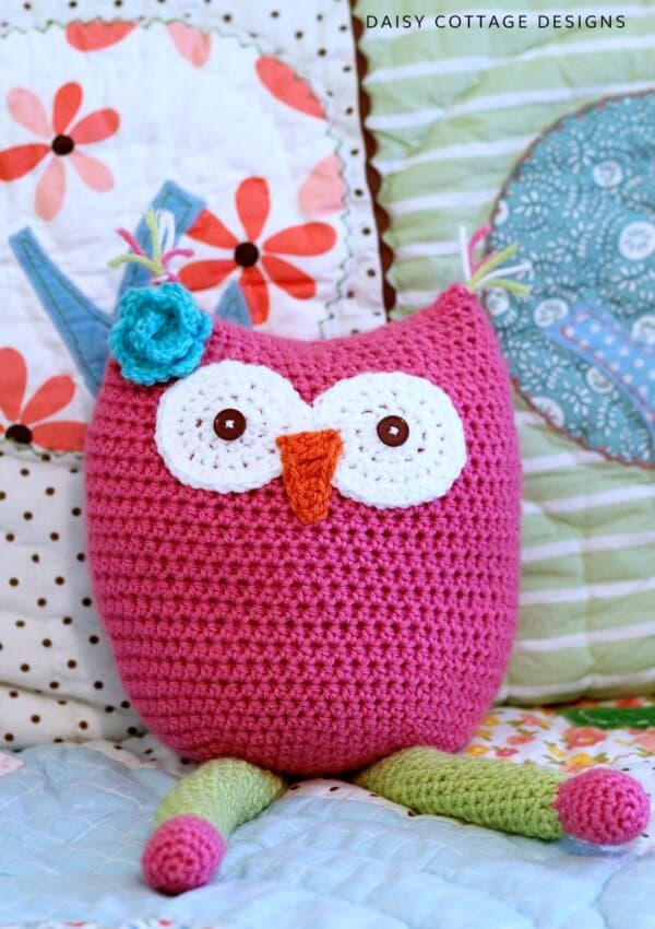 Owl Toy Crochet Pattern
