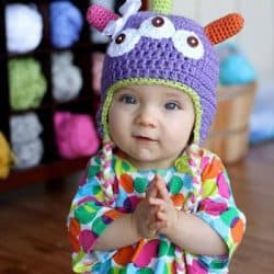 Free Monster Hat Crochet Pattern