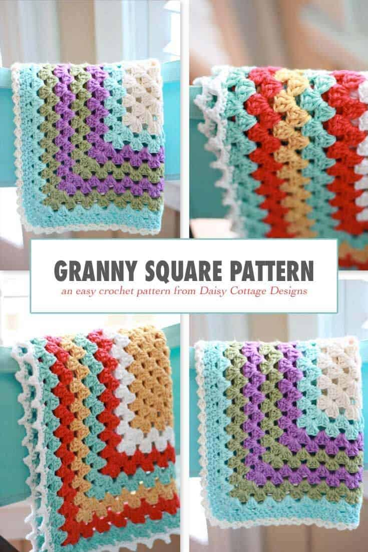 How To Crochet A Granny Square Blanket