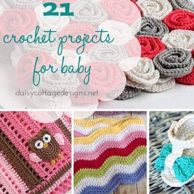 21 Crochet Patterns for Baby