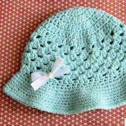 Crochet Hat Pattern for Summer