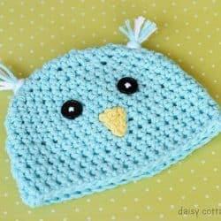 Crochet Hat Pattern {Spring Chick Hat}