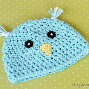 Crochet Hat Pattern {Spring Chick Hat}