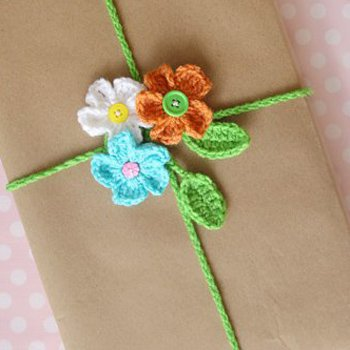 Crochet Gift Wrapping Ideas