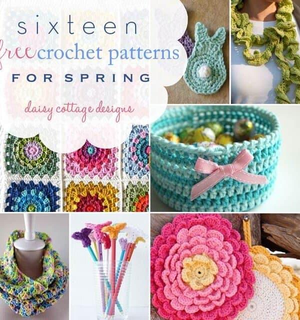 16 Free Spring Patterns for Spring