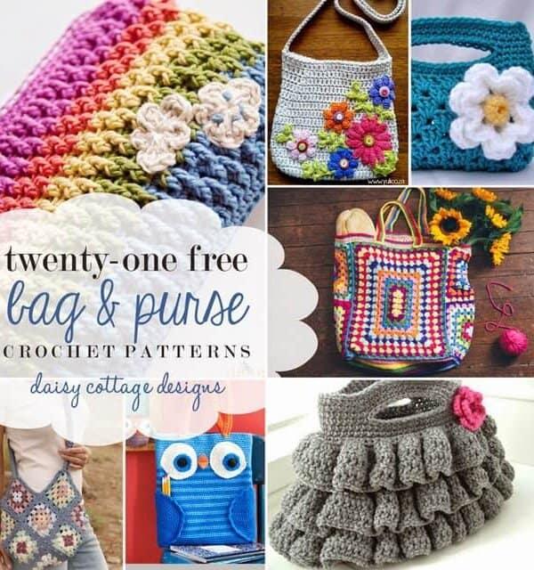 21 Free Bag Crochet Patterns
