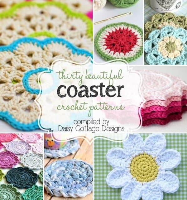 30 Free Coaster Crochet Patterns
