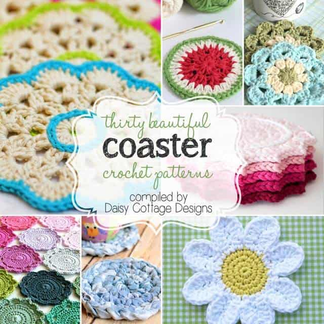 60 Free Coaster Crochet Patterns Daisy Cottage Designs Best Crochet Coaster Pattern
