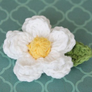 Daisy Crochet Flower Pattern