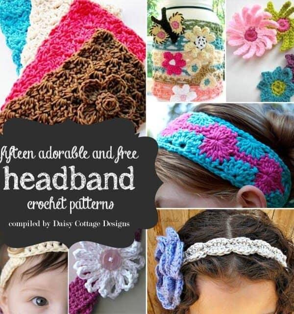 15 Free Headband Crochet Patterns