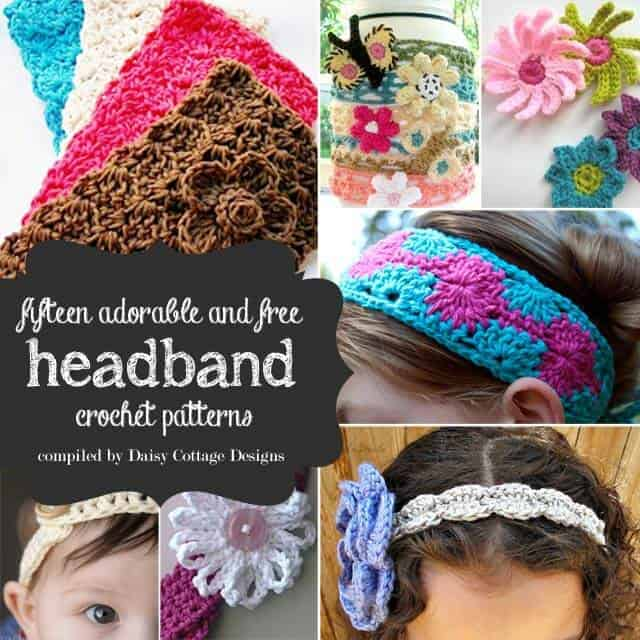 15 Free Headband Crochet Patterns Daisy Cottage Designs