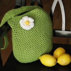 Large Market Tote Crochet Pattern