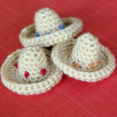Mini Sombrero Crochet Pattern {Happy Cinco de Mayo}