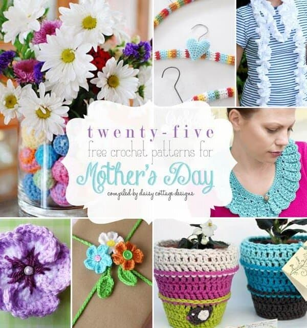 25 Free Crochet Patterns for Mother's Day