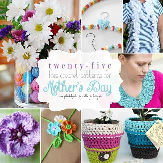 25 Free Crochet Patterns For Mothers Day Daisy Cottage Designs