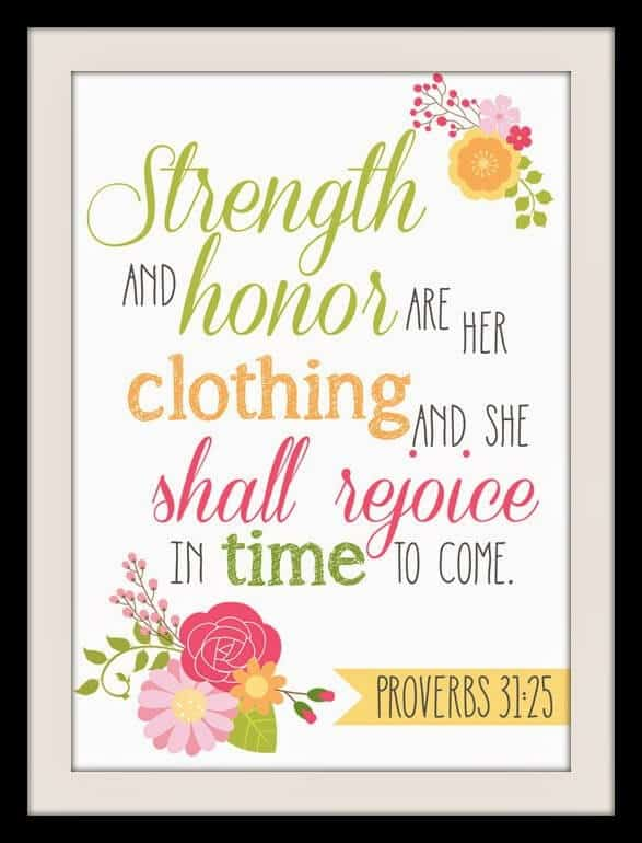 graphic relating to Free Printable Bible Verses to Frame called Cost-free Bible Verse Printable and apple iphone Wallpaper Proverbs 31