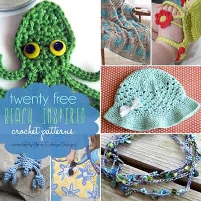 20 Free Beach Inspired Crochet Patterns