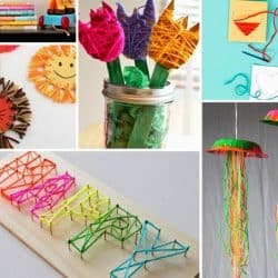 15 Yarn Crafts for Kids {& Adults}