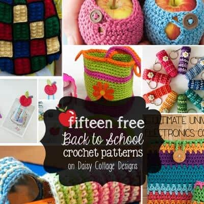 15 Back to School Crochet Patterns
