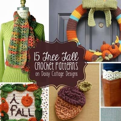 15 Fall Crochet Patterns