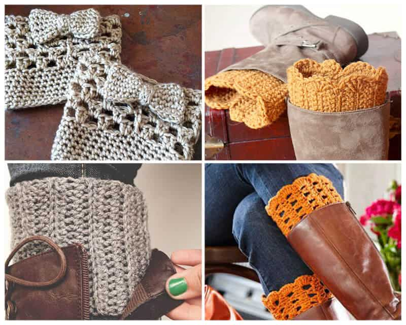 16 Free Boot Cuff Crochet Patterns - Daisy Cottage Designs