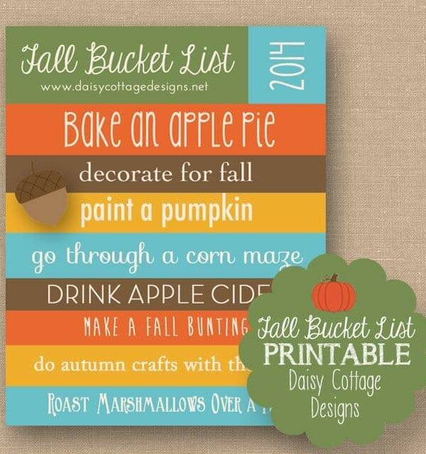 Fall Bucket List | 2014