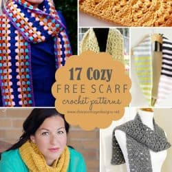 17 Free Crochet Scarf Patterns