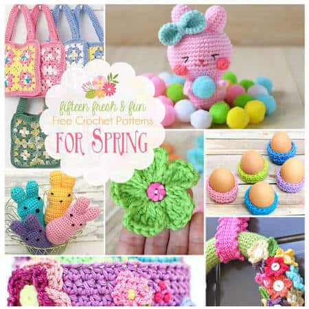 15 Free Spring Crochet Patterns