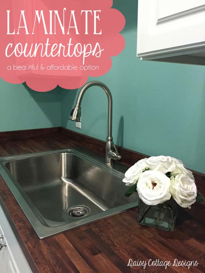 Laminate Countertops Easy & Affordable Option