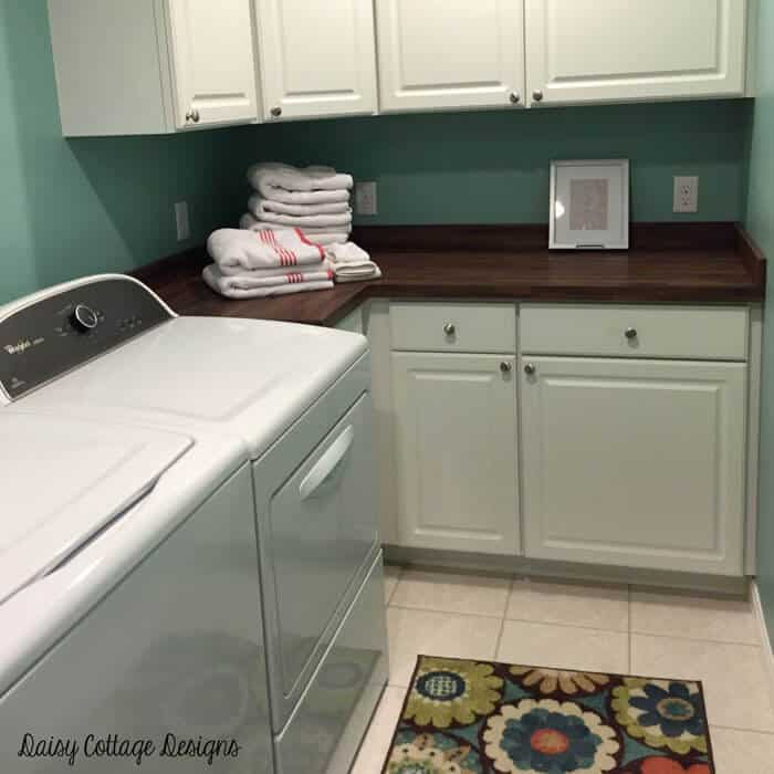 Best Laundry Room Location: Daisy Cottage Designs
