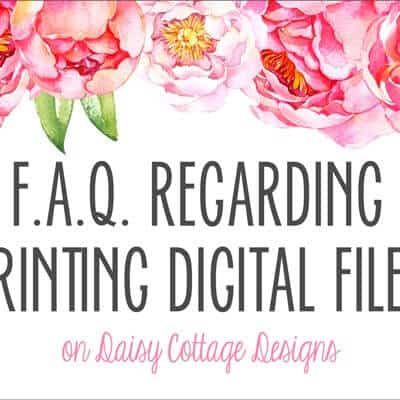 FAQ Regarding Printing Digital Invitations