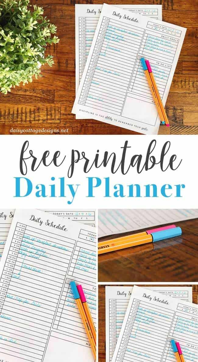 daily habit tracker a printable goal tracker daisy cottage designs
