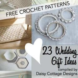 Wedding Crochet Patterns: 23 Free Crochet Patterns
