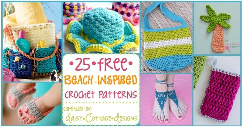 When it's too hot for afghans and scarves, these 25 crochet ideas for summer will help you satisfy the need to crochet. From Beach bags to barefoot sandals, there's something for everyone!