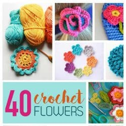 Crochet Flower Pattern Collection: 40 Free Crochet Patterns