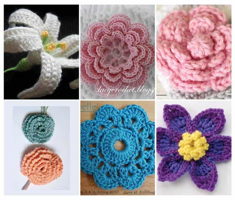 flower-crochet-pattern-roundup