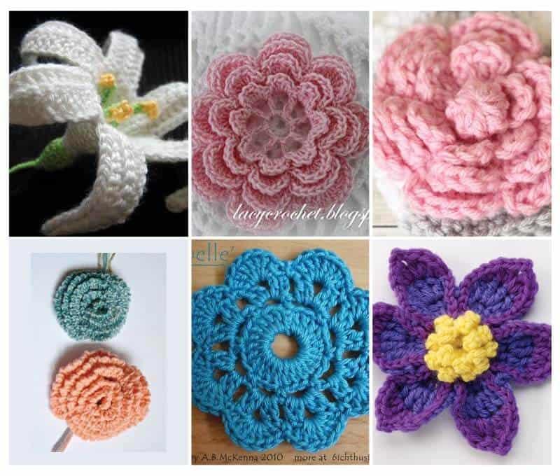 flower-crochet-pattern-roundup