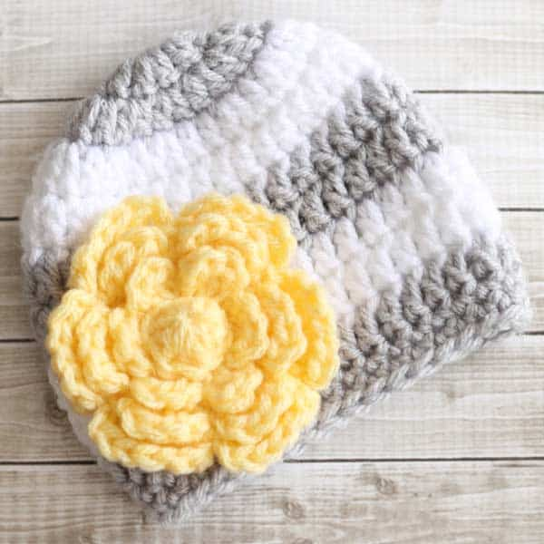 Free Crochet Pattern Large Flower : Free Large Flower Crochet Pattern - Daisy Cottage Designs