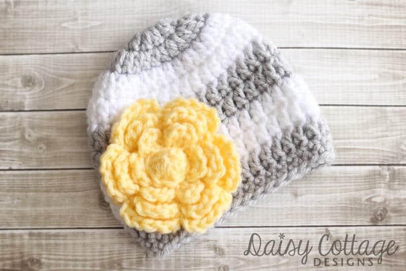 Flower Crochet Pattern Free - Daisy Cottage Designs
