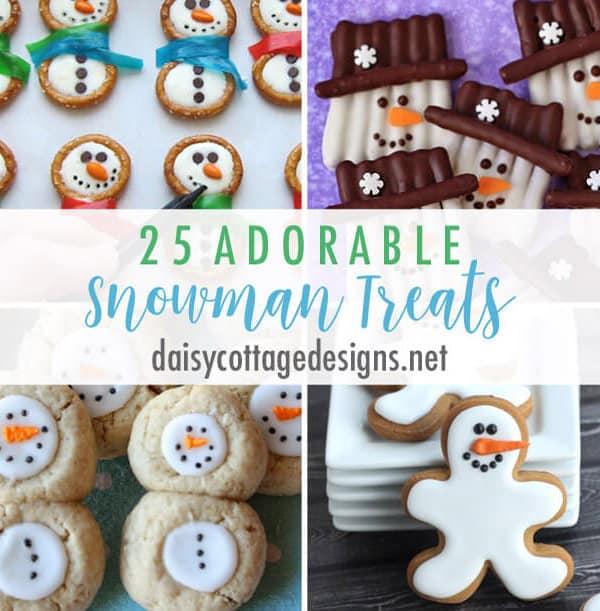 25 Snowman Treat Ideas