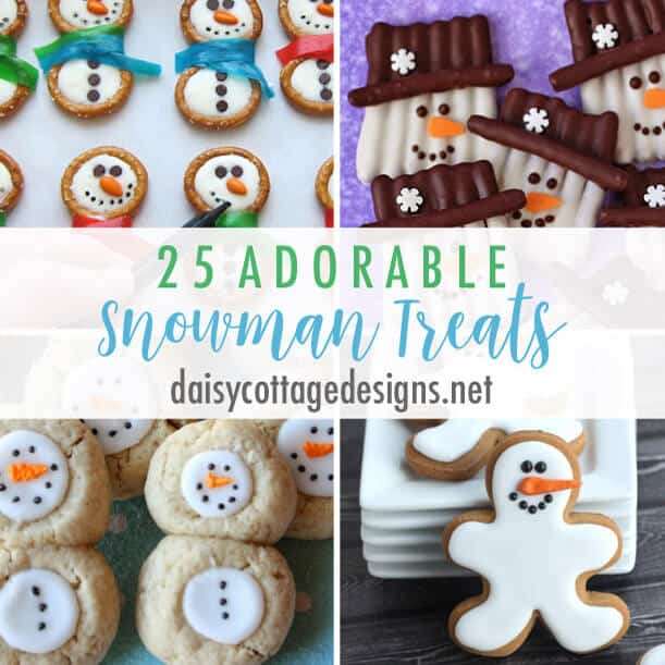 25 Snowman Treat Ideas