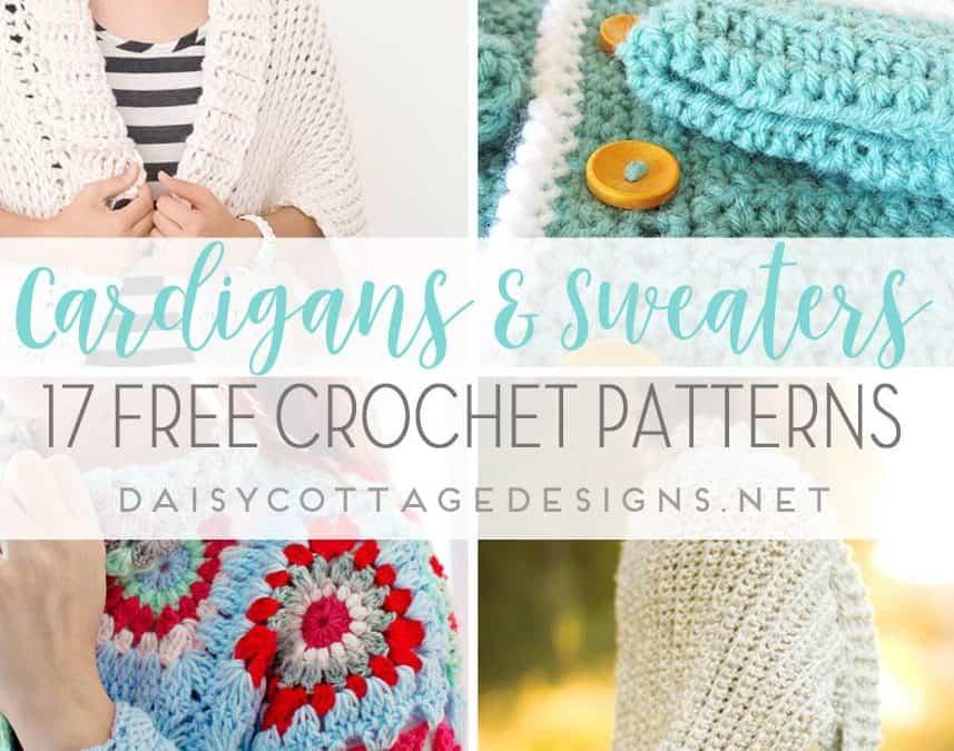 12 Free Crochet Sweater Patterns