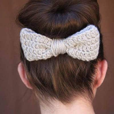 Large Bow Crochet Pattern