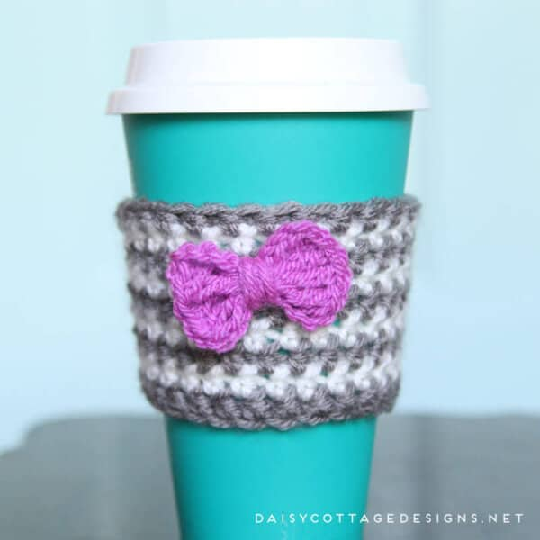 Crochet Coffee Cozy Pattern